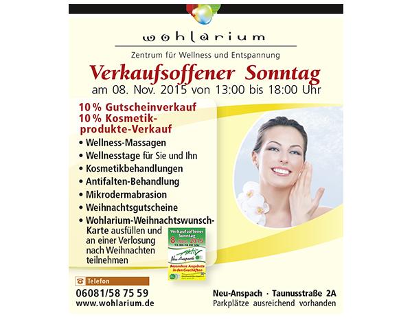 Anz Wohlarium 4c-ULE_VerkOffenerSonntag_10.15_Print